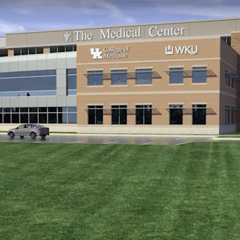 rendering of new UK College of Medicine -- Bowling Green