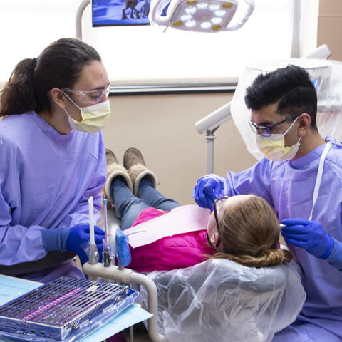 Photo of UKCD dental students