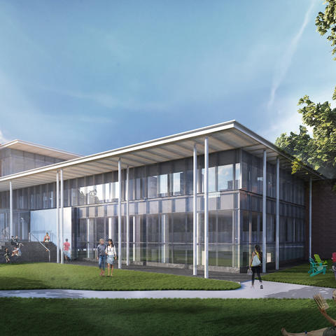 Rendering of new UK College of Law Building