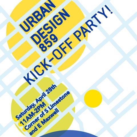 photo of Urban Design 859 pop-up park poster
