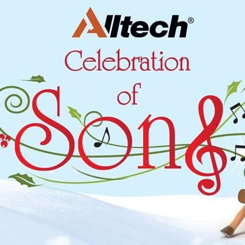 """photo of """"Celebration of Song"""" concert banner"""