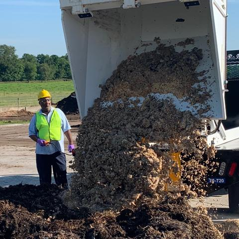 By the end of 2022, the University of Kentucky's sustainability objective is to divert— by recycling, composting, or reusing —at least as much material as it sends to the landfill.