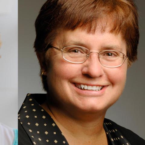 Judi Daniels and Darlene Welsh
