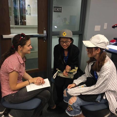 photo of students in UKCI & OCI Summer Language Academy