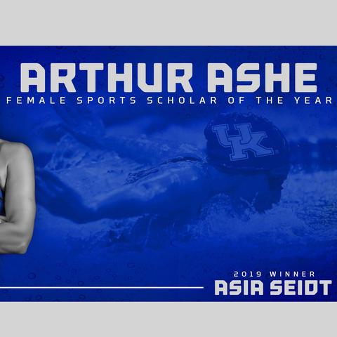 Asia Seidt Arthur Ashe graphic