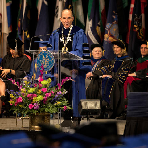 photo of Commencement in Rupp Arena