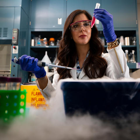 University of Kentucky researcher Nika Larian has been awarded a Science & Technology Policy Fellowship with the American Association for the Advancement of Science. Pete Comparoni | UK Photo.