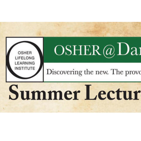 """The final lecture in the """"Summer Lecture Series 2019: Critical Thinking For The Preservation of Our Democracy"""" takes place this Thursday, August 15 from 9 a.m. until 11:30 a.m."""