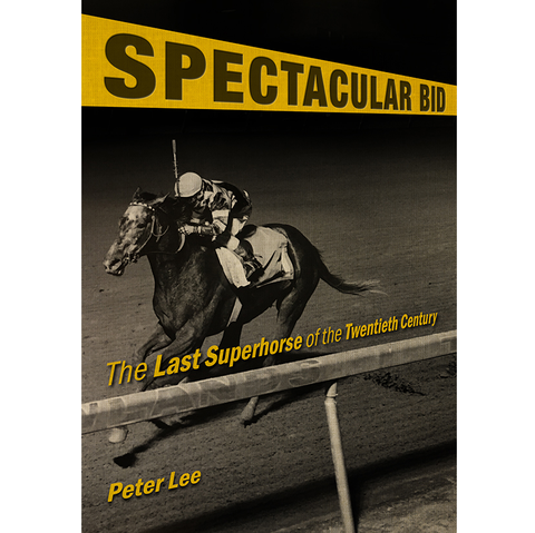 Cover of book featuring jockey on horse on track