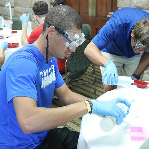 photo of STEM workshop