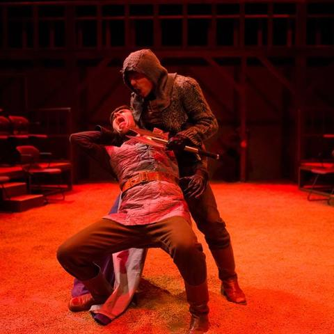 """photo of UK Theatre's production of """"Henry V"""""""