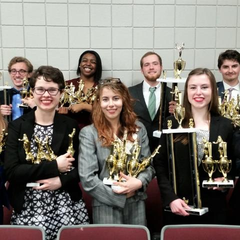 Photo of UK Speech and Debate Team