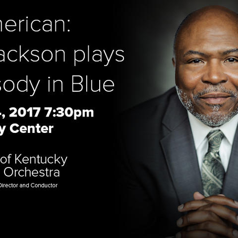 photo of concert webpage for Cliff Jackson with UK Symphony Orchestra