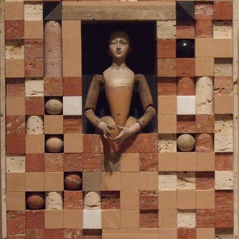 photo of untitled sculpture by Varujan Boghosian