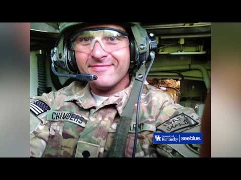 Thumbnail of video for VIDEO: UK Honors Student Veteran Michael Chambers