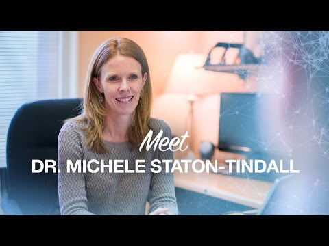 Thumbnail of video for Staton-Tindall Finds Passion in Research Close to Her Heart