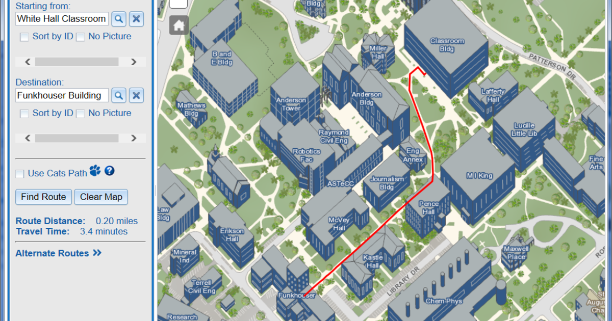 UK Unveils New High tech Interactive Campus Map | UKNow
