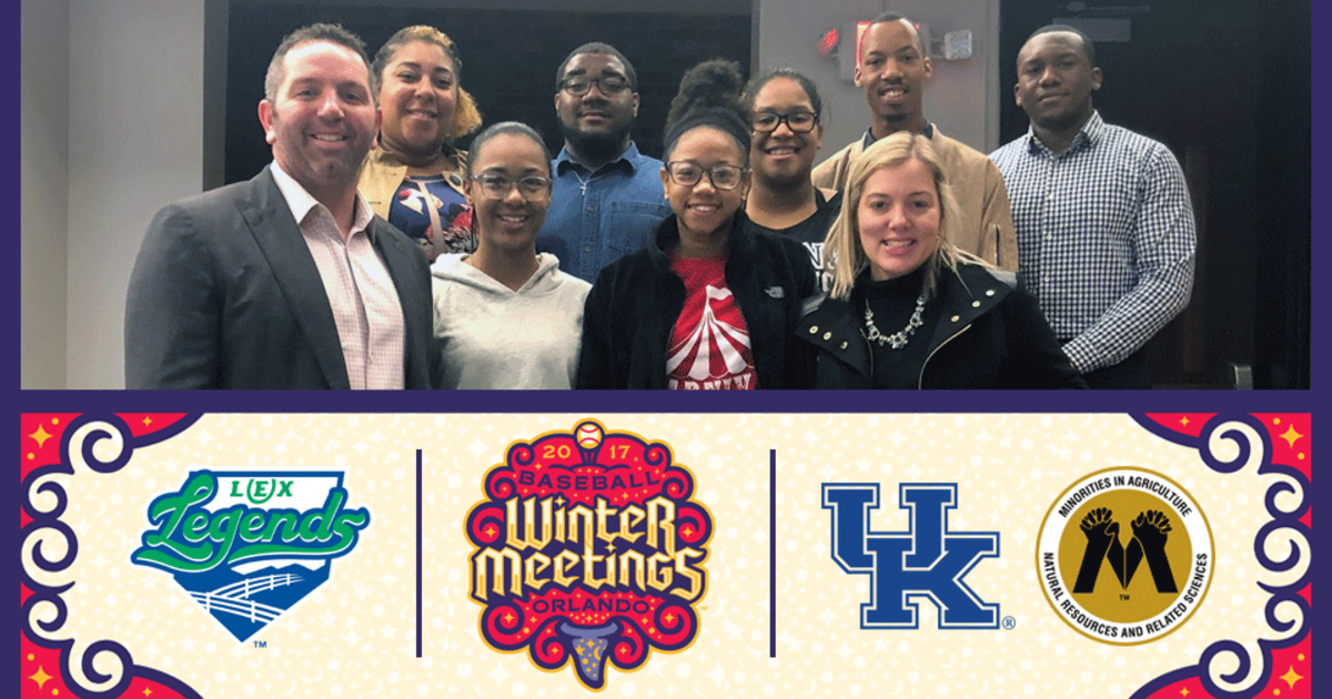 Legends Sponsor UK Students to Attend 2017 MLB Winter ...
