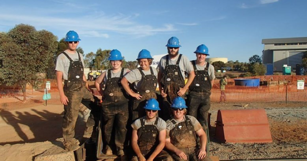 Students From Across the Globe Competing in International Mining
