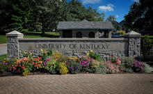 photo of UK sign