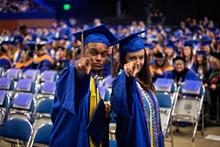 photo of UK graduates