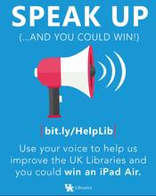 photo of libQUAL+ survey poster