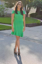 photo of Dealla Samadi in green dress