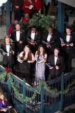 photo of 8 UK opera students singing at Celebration of Song 2016