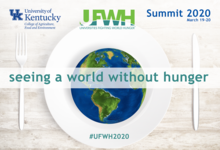 Detail of graphic for the UFWH Summit 2020