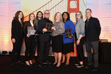 photo of CECentral group receiving award