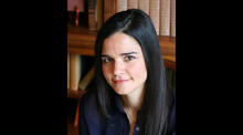 headshot photo of Elena Passarello by Wendy Madar