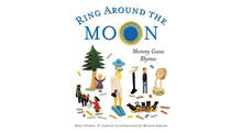 """Detail of book cover for """"Ring Around The Moon: Mommy Goose Rhymes"""""""
