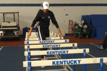 This is a photo of Olympian and UK Freshman Sydney McLaughlin.