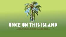 "photo of ""Once on This Island"" artwork"