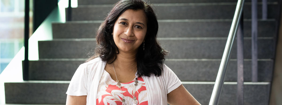 UK researcher Shyanika Rose is leading a study that will examine how restricting the sale of flavored tobacco products impacts health equity. Mark Cornelison   UK Photo.
