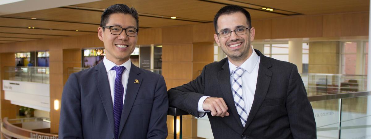 Phillip Chang and Doug Oyler