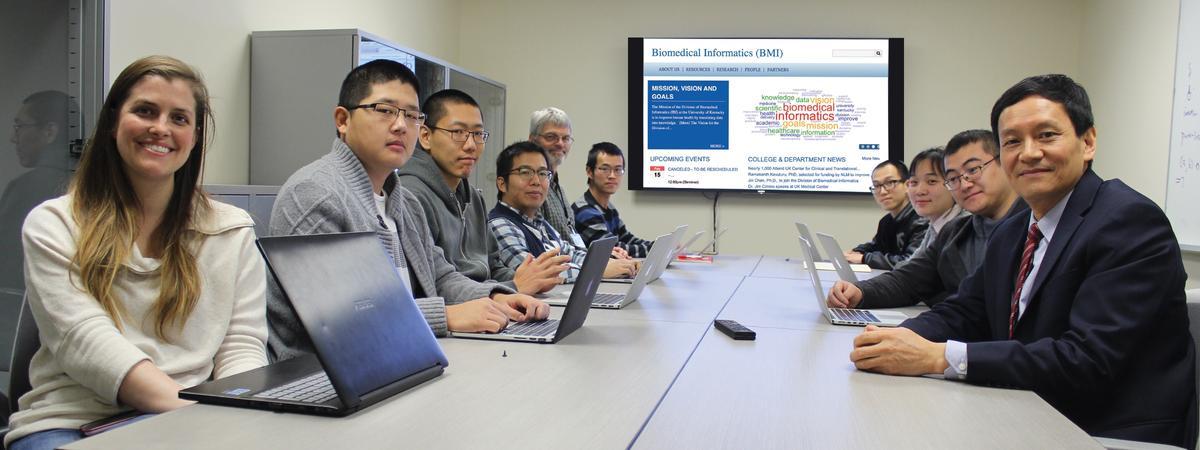 UK's Institute for Biomedical Informatics team