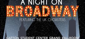 """Facebook web banner for 2020 """"A Night on Broadway"""""""
