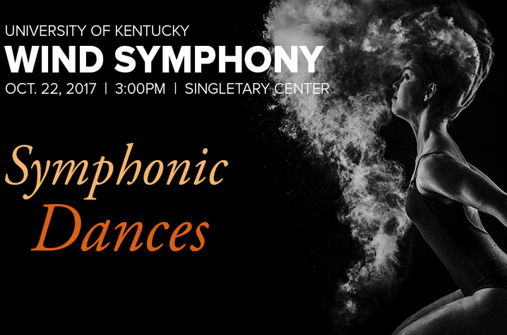 photo of UK Wind Symphony October concert web slider