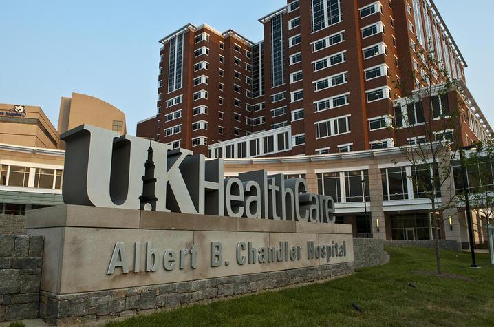 photo of exterior of UK Chandler hospital