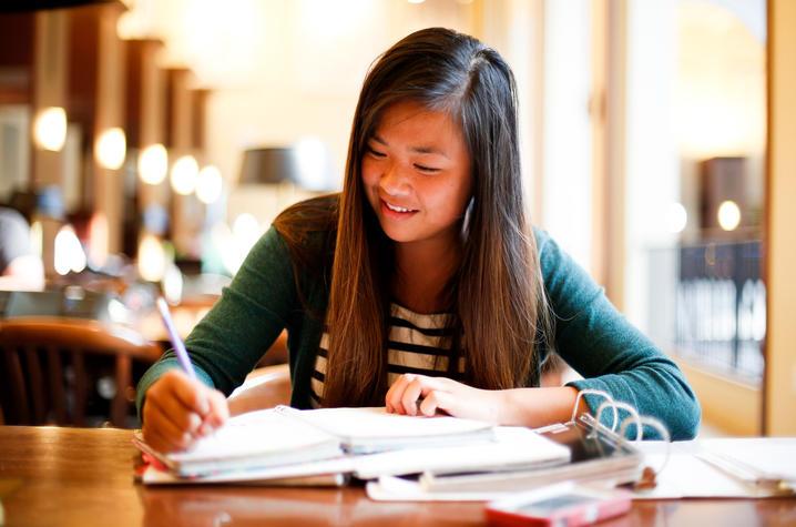 Photo of Girl Studying