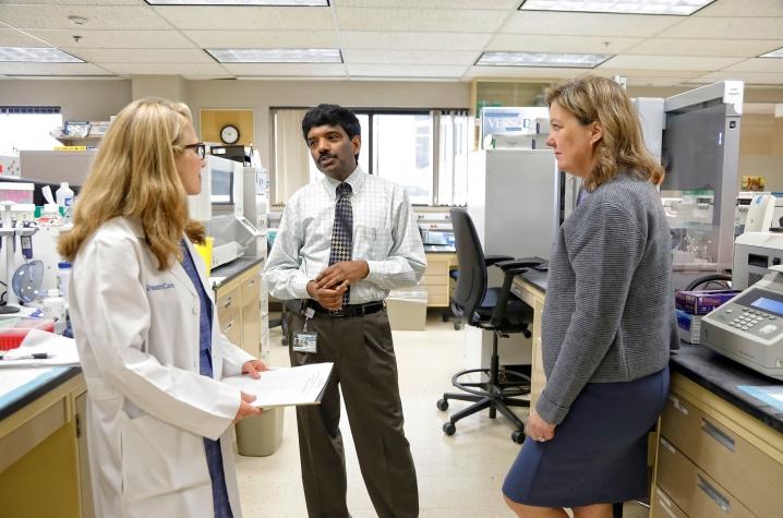Dr. Rachel Miller and Jill Kolesar