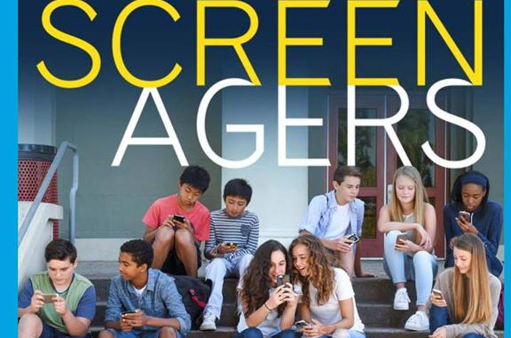 """photo of poster for Bale Boone presentation of """"Screenagers"""""""