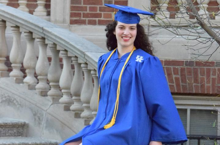 photo of Fiona Foster in cap and gown