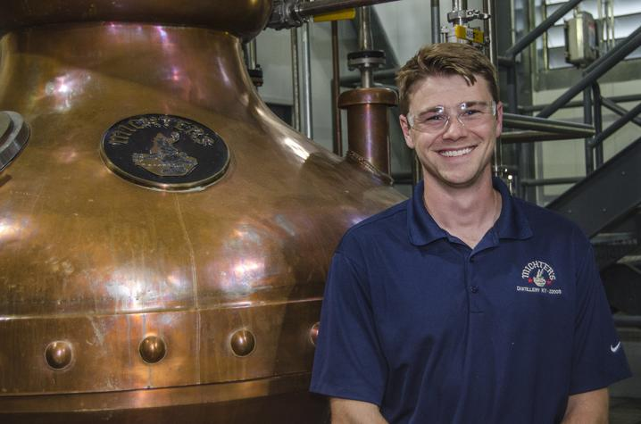 photo of Ben Beam at Michter's Distillery