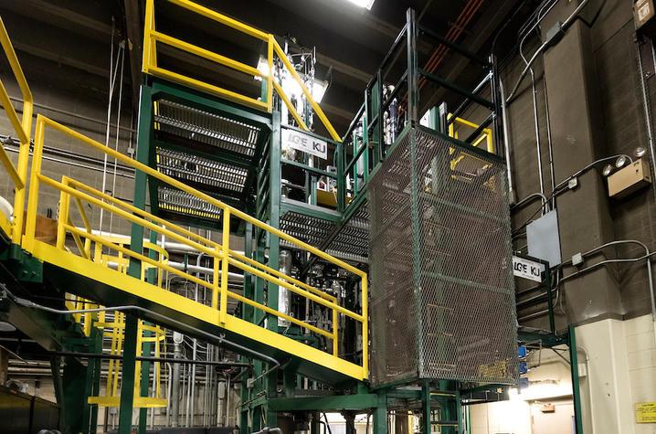 photo of UK CAER carbon capture unit