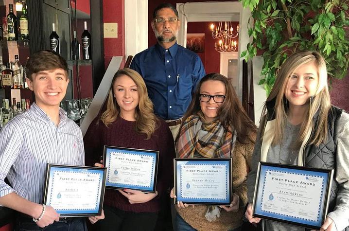 Belfry High School research team