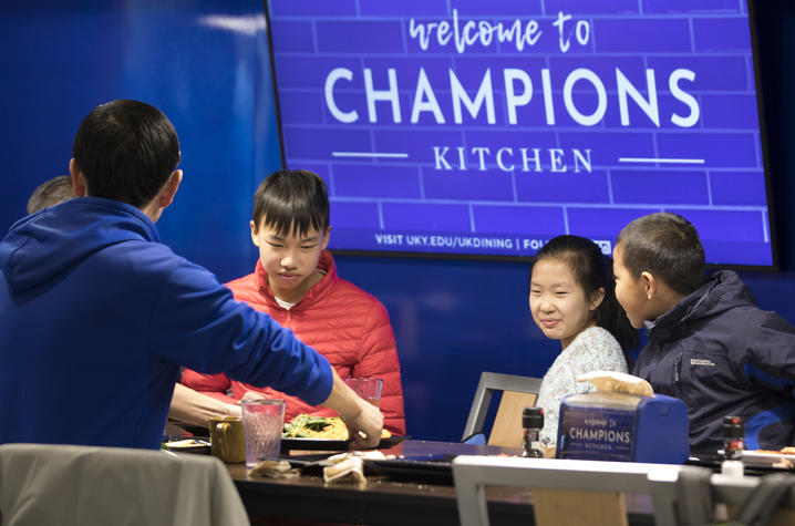 Uk Opens New Residential Dining Facility Champions Kitchen
