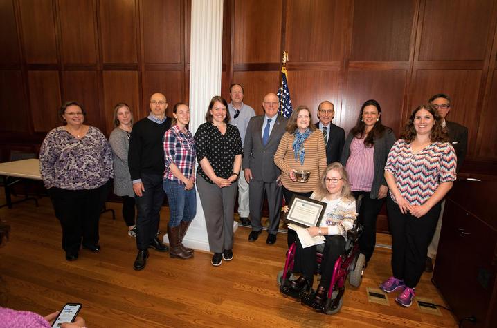 photo of award recipients