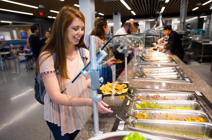 Photo of student at Champions Kitchen